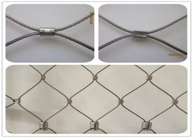 High Durability Stainless Steel Architectural Mesh For Balcony / Car Park Protection