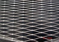 Professional Ferrule Wire Rope Mesh , Stainless Steel Cable Mesh Netting
