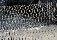 Zoo x tend inox wire mesh , decorative rope fence with Opening Size Customized