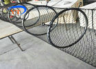 Special Type Diamond Mesh Fencing , Flexible Stainless Steel Bird Cage Fencing