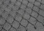 Inox Black Oxide Wire Rope Mesh Corrosion Resistance For Plant Supporting / Surviving