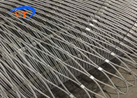 Stainless Steel Balustrede Safety Mesh 304 304L 316 316L For SGS / CE