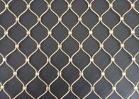 Ferrule Stainless Steel Wire Rope Mesh 304 304L 316 316L For Protecting