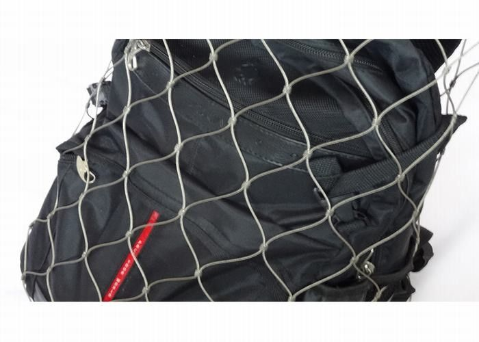 Durable Anti Theft Backpack Mesh 1.2mm-3.2mm Diameter For Stainless Steel Mesh Bag
