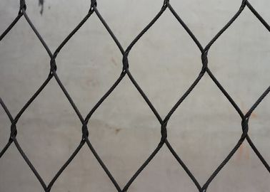 Black Oxide Wire Rope Mesh