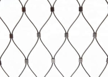 China Stainless Steel Wire Rope Green Wall Mesh 304 304L 316 316L factory